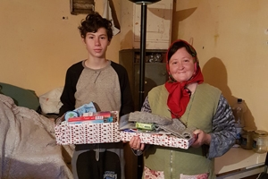 Giving some Christmas joy to Romanian families