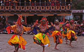 Discover the sacred celebrations of a vibrant Bhutanese festival