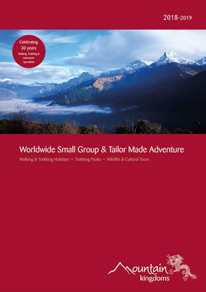 New Brochure - Celebrating 30 Years as Walking, Trekking & Adventure Specialists
