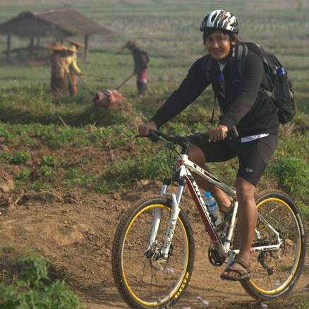 Local Cycling Leader Burma