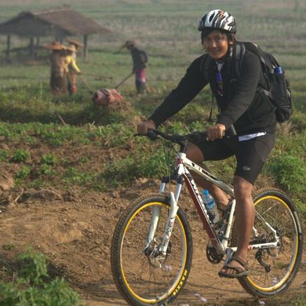 Local Cycling Leader Burma