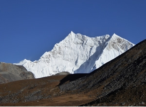 Yeti prints on world's highest unclimbed mountain