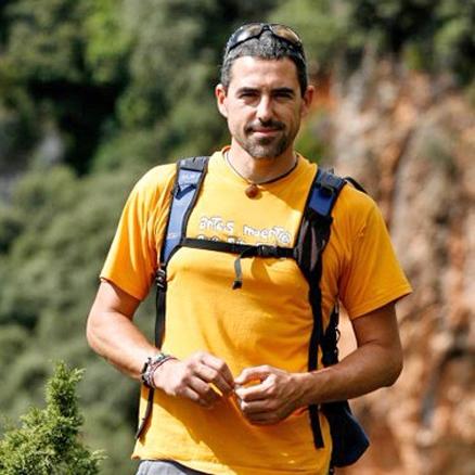 Local leader, Camino de Santiago, Spain