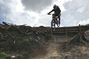 Jim rides the trail to raise money for Malawi