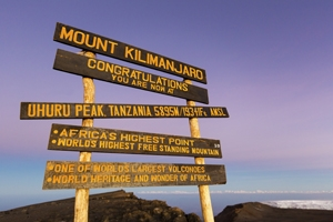 Trek Kilimanjaro by the light of the full moon and Save £130