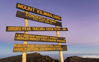 Our tips for the top – how to reach the summit of Mount Kilimanjaro