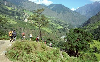Best time to trek in Nepal - trekking regions