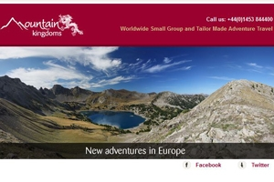 February e-newsletter - New adventures in Europe