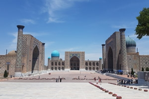 New departures available - Silk Road to Samarkand, Uzbekistan