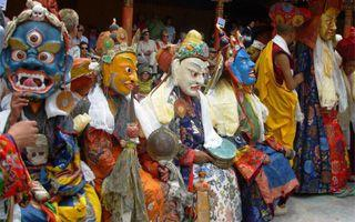 Ladakh Festivals - Hemis and Dak Thok