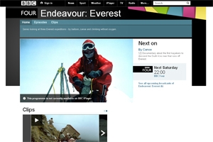 Everest expeditions on TV