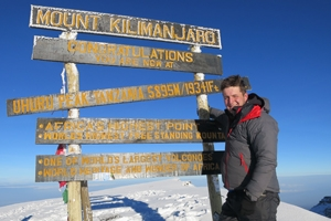 An interview with Harry: Mountain Kingdoms newest summiteer