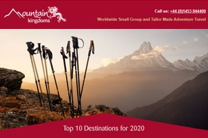 January e-newsletter - Top 10 Destinations for 2020