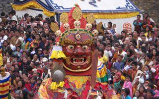 Experience a festival on one of our Bhutan treks or tours
