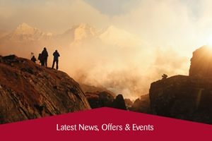 January e-newsletter - Take Part in the Everest Marathon, Special Offers & More.