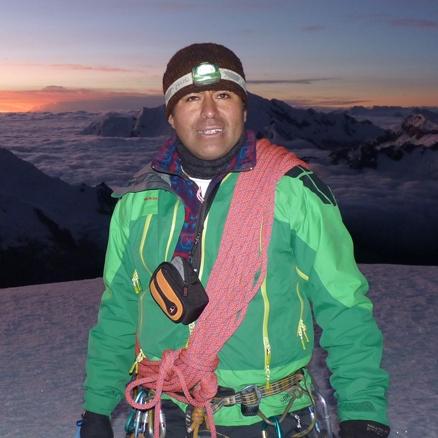 Local leader, Pisco Peak