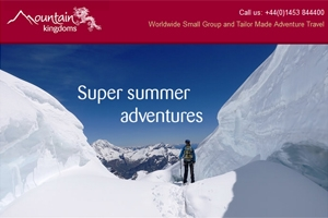 Read our April e-newsletter - Super summer adventures