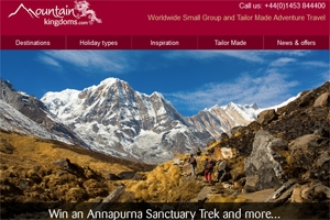 Read our January e-newsletter - Win a Nepal trek and more