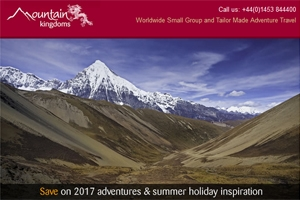 Read our June e-newsletter - save on 2017 adventures