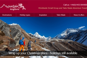 Read our November e-newsletter - Christmas getaways