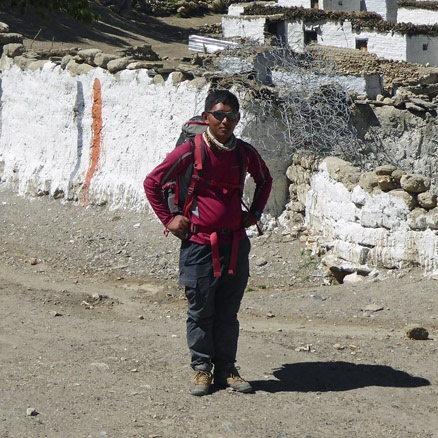 Nepalese Sherpa, Mustang