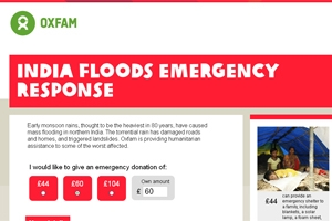 North India floods – Oxfam appeal