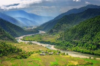 The Punakha Valley