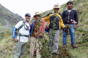Carbon Offsetting by replanting Peruvian forests