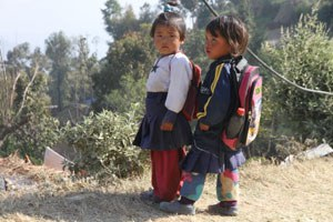 Fundraising for the Ginette Harrison School in Nepal