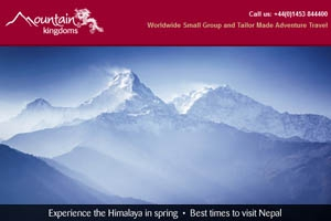 March e-newsletter - Experience the Himalaya in 2019