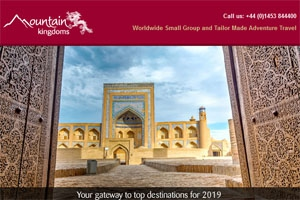 February e-newsletter - Your gateway to top destinations for 2019